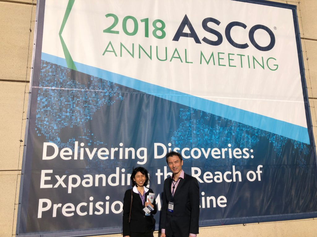 Updates from American Society of Oncology (ASCO) Annual Meeting 1-5 June 2018, Chicago, USA