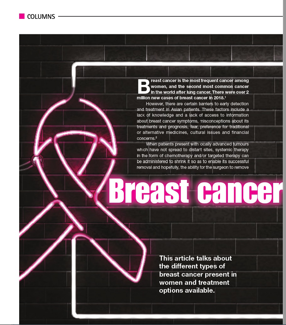 Breast cancer: It's not just one cancer