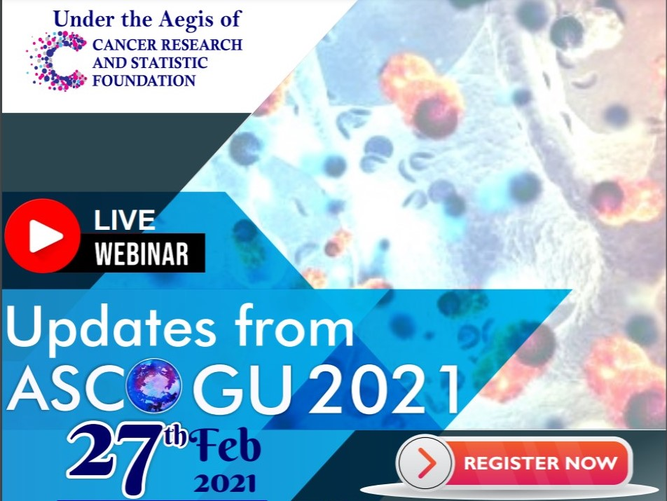 Live Webinar - Updates from ASCO Genitourinary Cancers 2021, Feb 27th