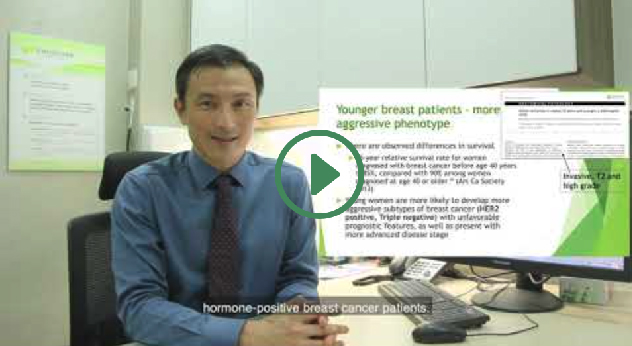 Breast cancer in young patients